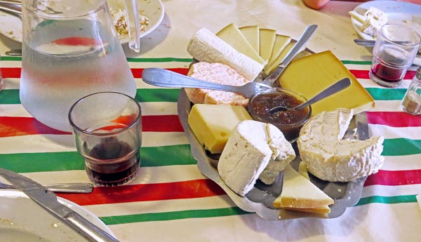 Now that's a cheese plate