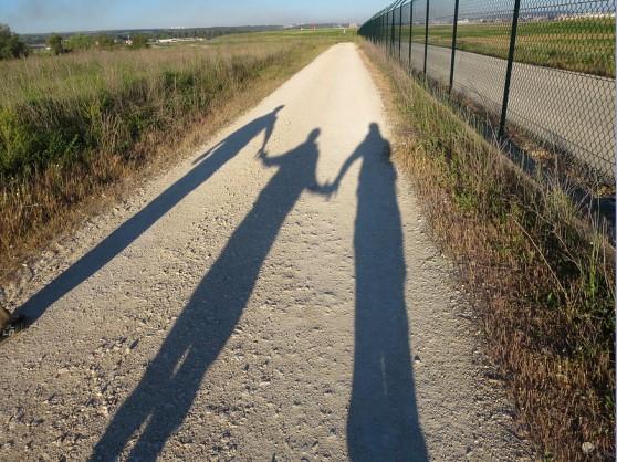 obligatory pilgrim shadow shot